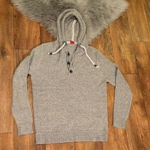 S.Oliver Sweater Hoodie Button M